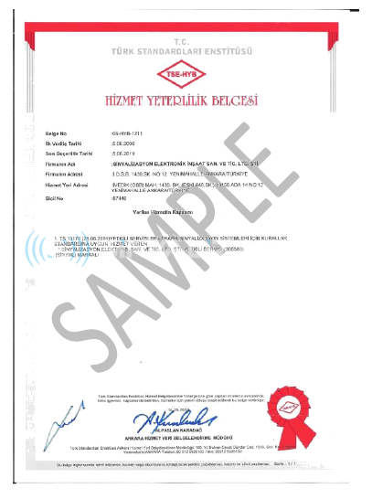 SERVICE QUALITY CERTIFICATE05062019