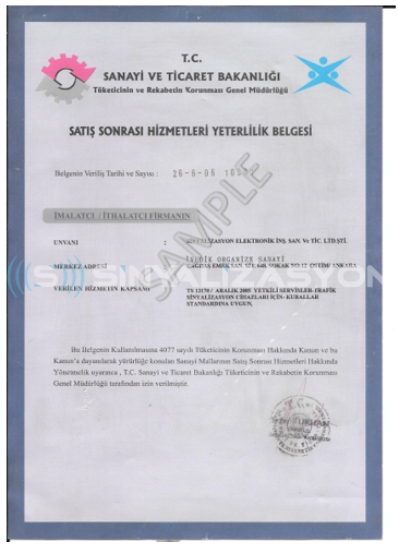 AFTER SALES SERVICES QUALIFICATION DOCUMENT